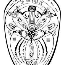 Polynesisches Mandala