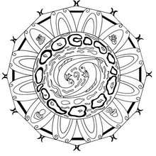 Wasser Energie Mandala