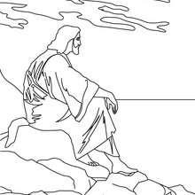 Jesus Christus zum Ausmalen