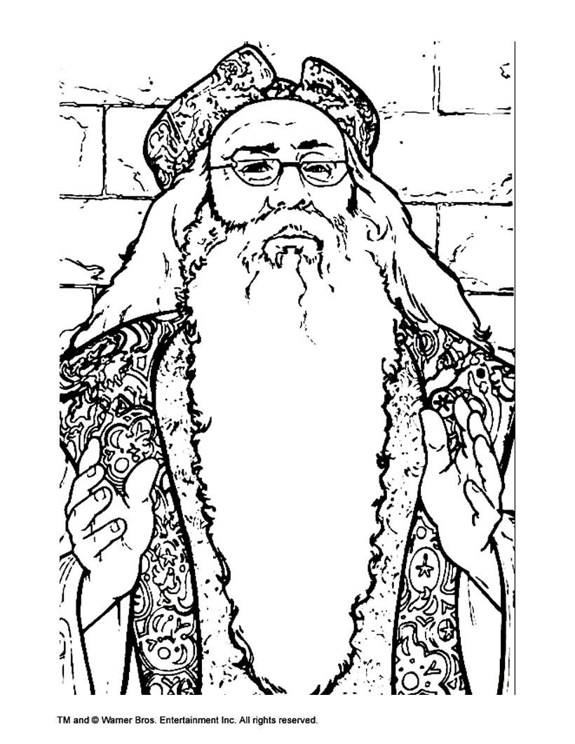 Albus dumbledore zum ausmalen zum ausmalen  dehellokidscom