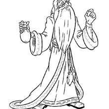 Dumbledore zum Ausmalen