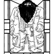 Hagrid zum Ausmalen