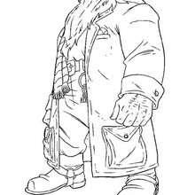 Rubeus Hagrid zum Ausdrucken