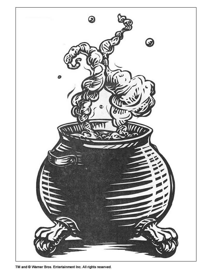 Harry potters hexenkessel zum ausmalen zum ausmalen  dehellokidscom