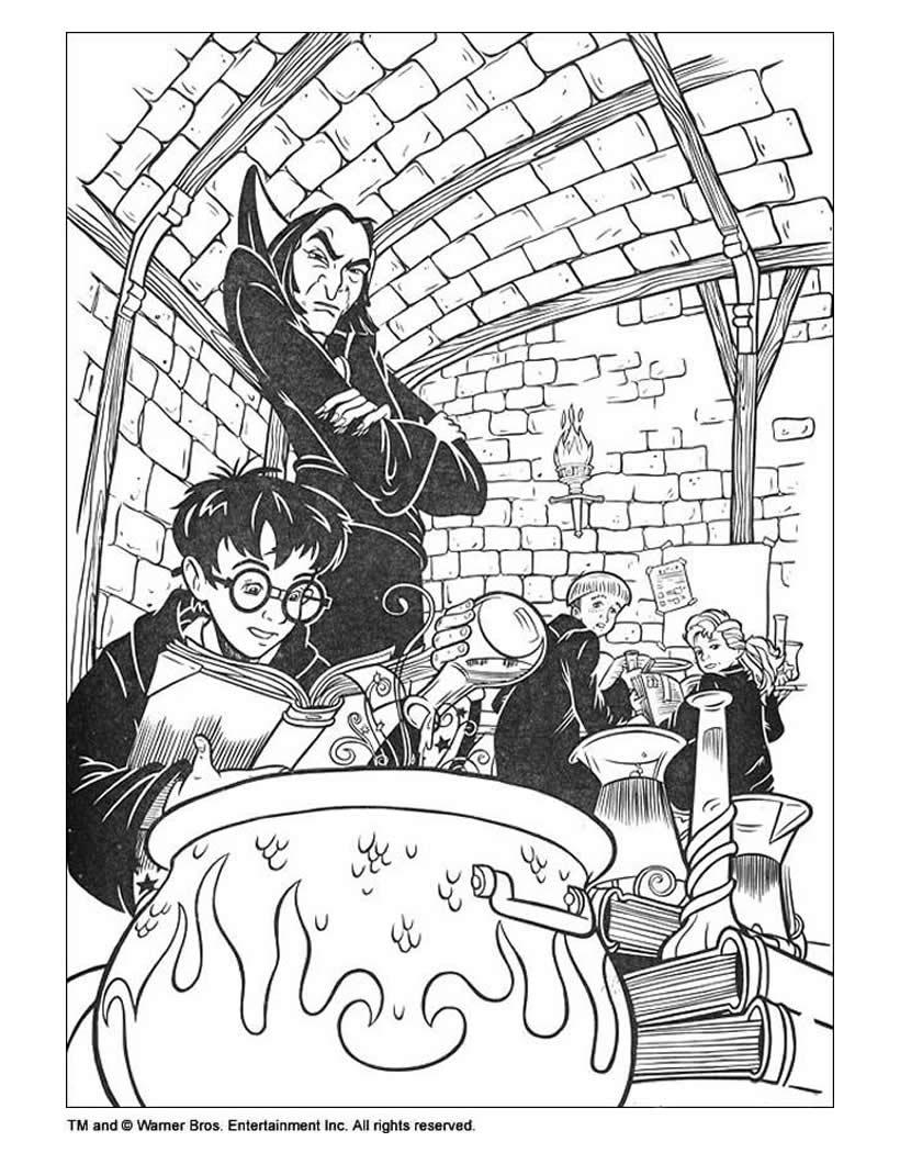 Harry potter im klassenzimmer zum ausmalen zum ausmalen  de