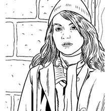 Hermione Granger zum Ausmalen