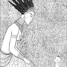 kirikou coloring pages-#26