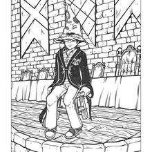 Harry potter coloring page - Coloring page - MOVIE coloring pages - HARRY POTTER coloring pages - Free HARRY POTTER coloring pages