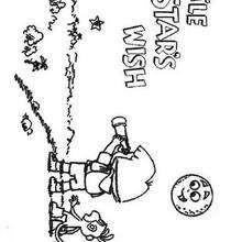 Dora und Little Star zum Ausmalen
