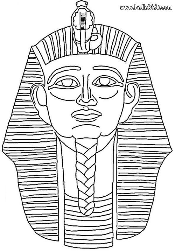 Pharao zum Ausmalen