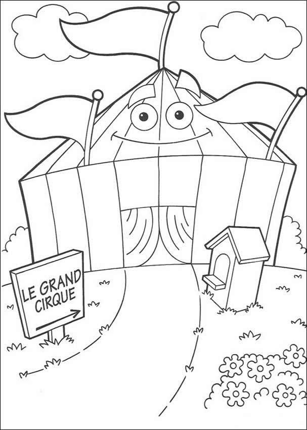 zirkus zum ausmalen zum ausmalen  dehellokids