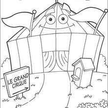 Zirkus zum Ausmalen