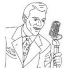 Sänger, SÄNGER zum Ausmalen