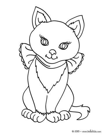 Katze zum ausmalen zum ausmalen - Dessiner une chatte ...