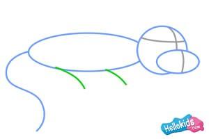 Wie man eine Eidechse malt