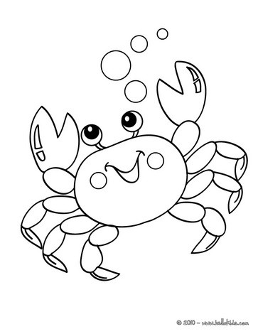 Krabbe : Ausmalbilder, Bilder für Kinder, Basteln, Videos für Kinder ...