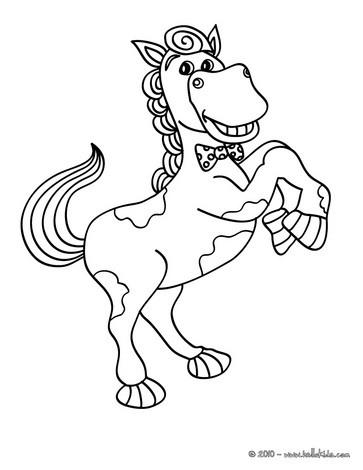 Entspannendes pferd zum online ausmalen zum ausmalen - de ...