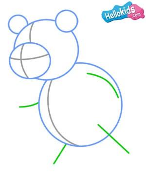 Wie man einen Panda malt