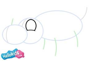 Wie man ein Nashorn malt
