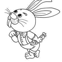Kaninchen zum online Ausmalen
