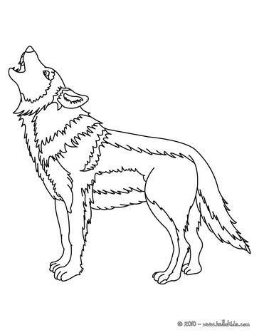 Wolf Zum Ausmalen Zum Ausmalen De Hellokids Com