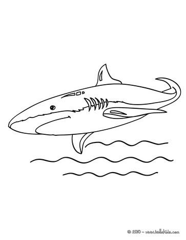 Ziemlich Realistische Großen Weißen Hai Malvorlagen Ideen - Beispiel ...