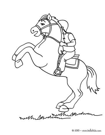 Reiterausrüstung für kinder zum ausmalen zum ausmalen - de ...