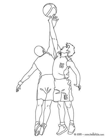 Basketball cheerleader zum ausmalen zum ausmalen - de.hellokids.com