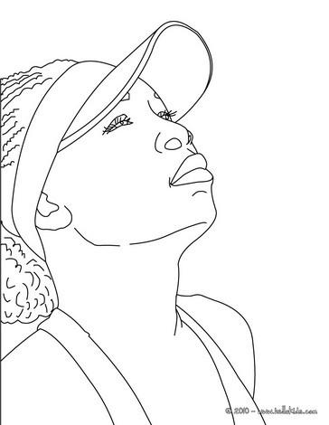 venus serena williams coloring pages | Venus williams nahaufnahme zum ausmalen zum ausmalen - de ...