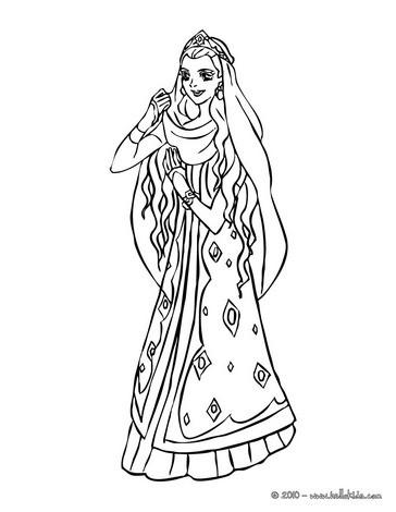 Marokkanische prinzessin tanzt zum ausmalen zum ausmalen   de