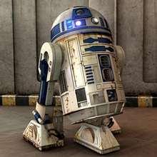 R2-D2 Kinderpuzzle