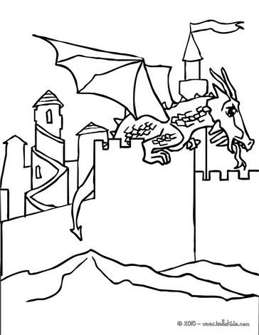 Schloss : Ausmalbilder, Kostenlose Spiele, Lesen, Basteln, Bilder ...
