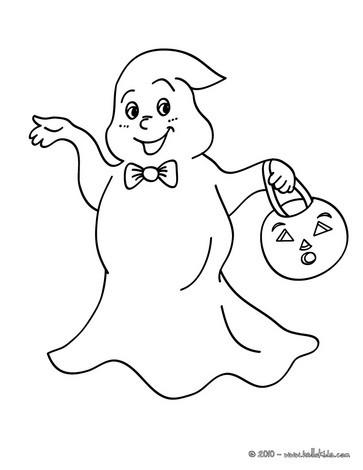 Halloween geister zum ausmalen - de.hellokids.com