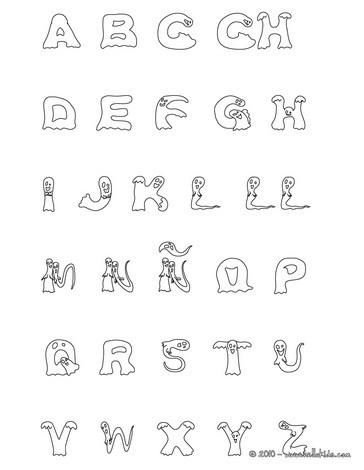 alphabet buchstaben zum ausmalen