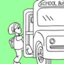 Schulanfang, SCHULLEBEN zum Ausmalen