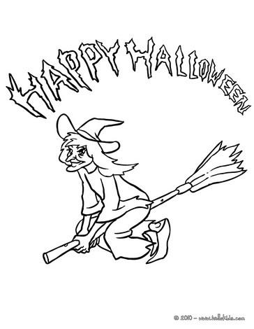 halloween schriftzug zum ausmalen - malvorlagen