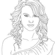 Taylor Swift zum Ausmalen