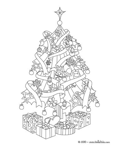 weihnachtsbaum mit geschenken zum ausmalen zum ausmalen. Black Bedroom Furniture Sets. Home Design Ideas