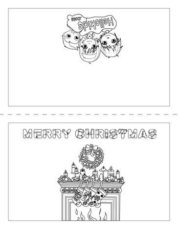 Weihnachtskarte sterne und krippe zum ausmalen zum ausmalen - de ...