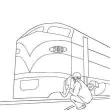 Alter Eisenbahnwagon Zum Ausmalen Zum Ausmalen De Hellokids Com