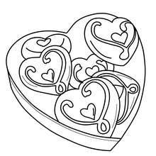 Herzbogen zum Ausmalen