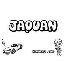 Jaquan zum Ausmalen