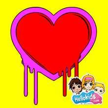 Valentinstag Herz Schiebepuzzle