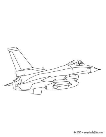 Kampfjet zum ausmalen zum ausmalen  dehellokidscom