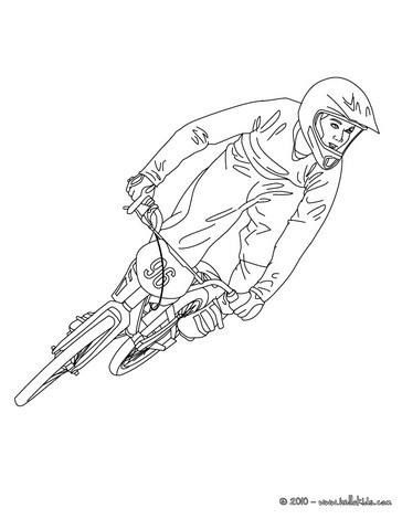 Rennradfahrer zum ausmalen zum ausmalen - de.hellokids.com Andar En Bicicleta Para Colorear
