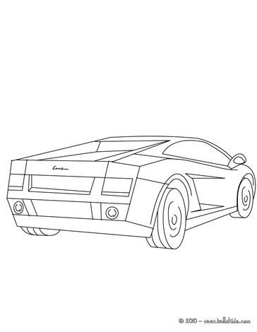 Lamborghini gallardo zum ausmalen zum ausmalen de - Dessin de lamborghini aventador ...