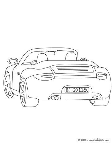 Porsche Carrera Zum Ausmalen Zum Ausmalen Dehellokidscom