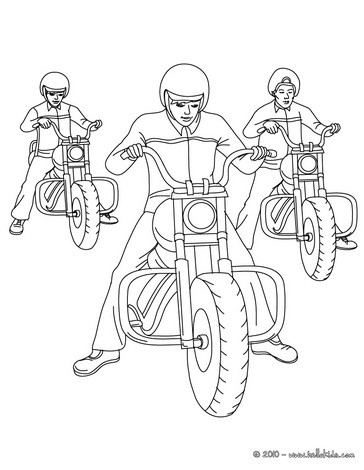 MOTORRAD zum Ausmalen - Ausmalbilder - Ausmalbilder ausdrucken - de ...