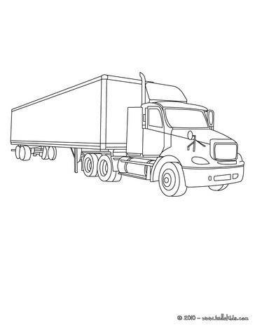 Lastwagen Zum Ausmalen Ausmalbilder Ausmalbilder Ausdrucken De