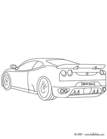 Porsche Carrera Zum Ausmalen Zum Ausmalen De Hellokids Com